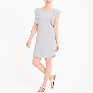JCrew Ruffle Dress, NWT